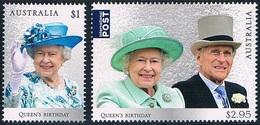 Australie - 91e Anniversaire De S.M. Elizabeth II 4431/4432 (année 2017) ** - 2010-... Elizabeth II