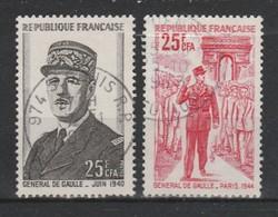 REUNION  YT 400 ET 402  TB - La Isla De La Reunion (1852-1975)