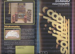 CATALOGO AUTO D'EPOCA SOLIDO 1979...MODELLINO...MODELLISMO..GIOCATTOLI - Other Collections
