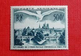 500 FRANCS POSTE AÉRIENNE N°20 NEUF** - Airmail