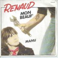 """45 Tours SP - RENAUD  - POLYDOR 2056942   """" MON BEAUF' """" + 1 - Vinyl-Schallplatten"""