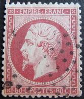 LOT R1749/61 - NAPOLEON III N°24 - ETOILE MUETTE DE PARIS - Cote : 60,00 € - 1862 Napoleon III