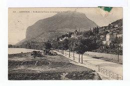 Grenoble. St Martin Le Vinoux Et Le Casque De Néron. Avec Roulottes Gens Du Voyage. (2800) - Grenoble