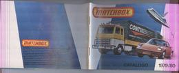 CATALOGO AUTO D'EPOCA MATCHBOX 1979/80.....MODELLINO...MODELLISMO..MODELS...GIOCATTOLI - Other Collections