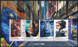 Australie - Street Art BF 234 (année 2017) ** - Blocks & Sheetlets