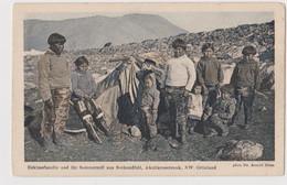 Groenland, Eskimefamilie - F.p. - Anno 1910 - Greenland