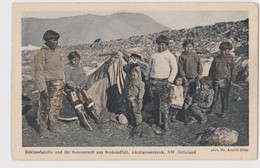 Groenland, Eskimefamilie - F.p. - Anno 1910 - Groenlandia