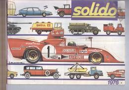 CATALOGO AUTO D'EPOCA SOLIDO 1976....MODELLINO...MODELLISMO..MODELS...GIOCATTOLI - Other Collections