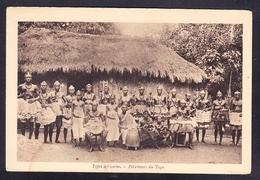ET1-49 TYPES AFRICAINS FETICHEURS DU TOGO - África