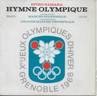 "Spiro Samara 45t. EP ""hymne Olympique J.O. D'hiver Grenoble 1968"" - Instrumental"