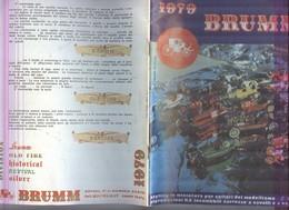 CATALOGO CARROZZE..LOCOMOBILI D'EPOCA BRUMM 1979....MODELLINO...MODELLISMO..MODELS...GIOCATTOLI - Other Collections