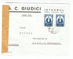 Turkey/Austria CENSORED COVER - Turkey