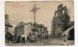 48 - Allenc - Près Le Bleymard ,l'église Et La Place - France