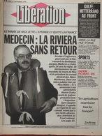 Libération 17 Sept 1990 Jacques Médecin - Dation Picasso - - Journaux - Quotidiens