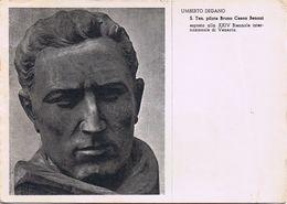 Umberto Degano - S Ten. Pilota Bruno Ceson Benoni - XXIV Biennale Venezia - 1955 - Angolo Un Po' Scollato - Sculture