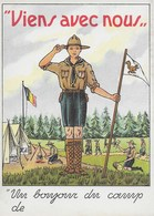 Carte Postale. Scout. - Organisations