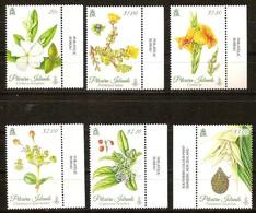 Pitcairn Islands 2014 Yvertn° 820-825 *** MNH Cote 26 Euro Flore Bloemen Flowers - Timbres