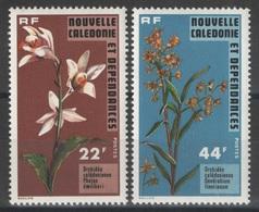Nouvelle-Calédonie - YT 409-410 ** - 1977 - Orchidées - Orchids - New Caledonia