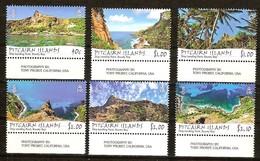Pitcairn Islands 2013 Yvertn° 810-815 *** MNH Cote 22 Euro Paysages Baie De Bounty - Pitcairn