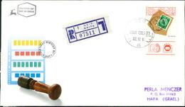 Israel FDC 1991, Tag Der Briefmarke, Philatelic Philately Day, Michel 1203 (3-40) - FDC