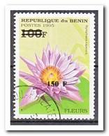 Benin 2000, Gestempeld USED, Overprint, Plants, Flowers, Cacti - Benin – Dahomey (1960-...)