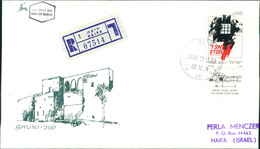 """Israel FDC 1991, Gründung Der Nationalen Militärischen Untergrundorganisation """"Etzel"""", Michel 1205 (3-43) - FDC"""