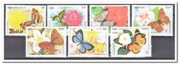 Cambodja 1991, Postfris MNH, Flowers, Butterflies - Cambodja