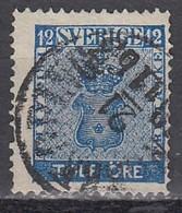SCHWEDEN 1858 - MiNr: 9 Used - Gebraucht