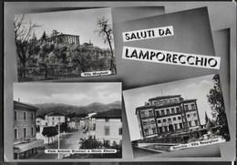 SALUTI DA LAMPORECCHIO - DIVERSE VEDUTE - VIAGGIATA DA LAMPORECCHIO 1959 FRANCOBOLLO ASPORTATO - Gruss Aus.../ Gruesse Aus...