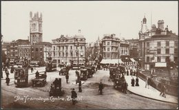 The Tramways Centre, Bristol, C.1910 - Harvey Barton RP Postcard - Bristol