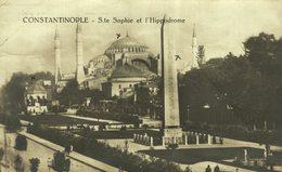RPPC  Constantinople / Istanbul RPPC   STE SOPHIE ET L'HIPPODROME    Turquie    TURQUIA - Turquia
