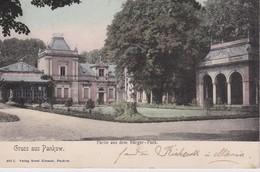 ALLEMAGNE 1909 CARTE POSTAL DE PANKOW - Pankow