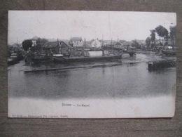Cpa Boom - Le Rupel - 2535 Héliotypie De Graeve Gand - 1906 - Briqueterie - Péniches - Boom