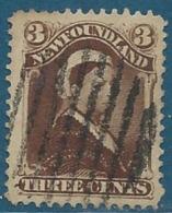 Terre Neuve   - Yvert N° 42 Oblitéré   -   Bce 13112 - 1865-1902