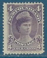 Terre Neuve   - Yvert N° 69  (*)      -   Bce 13114 - 1865-1902