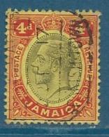 Jamaique    - Yvert N° 63  Oblitéré     -   Bce 13121 - Jamaïque (...-1961)