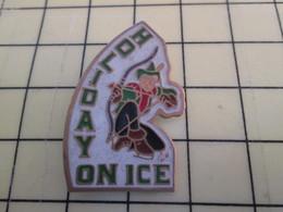 Pin1515b Pin's Pins / Beau Et Rare / THEME : SPORTS / TIR A L'ARC ROBIN DES BOIS HOLIDAY ON ICE - Archery