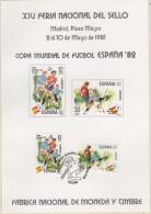 SPANIEN 2496-2497, Auf Maximumsonderkarte, Fussball-Weltmeisterschaft 1982 In Spanien - 1982 – Espagne