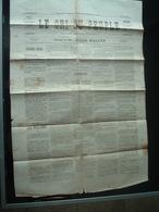 JOURNAUX  Journal  Le Cri Du Peuple Commune De Paris N 64  4mai 1871 Original 2scans - Journaux - Quotidiens