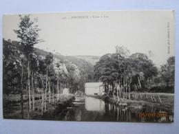 CPA 22 PONTRIEUX - Le Moulin Usine à Lin - Pontrieux