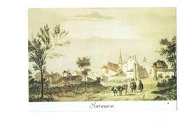 Cpm - 32 - Gers - SARAMON - Images Du Passé - Vache Taureau Tour - Sonstige Gemeinden