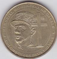 France - Jeton Touristique Monnaie De Paris - Colombey-les-Deux-Eglises - Mémorial Du Général De Gaulle - 2000 - Monnaie De Paris
