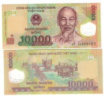 Vietnam Viet Nam 10000 Dong Plimer Q.fds/fds ( In Box ) - Viêt-Nam