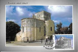 3701 - VAUX SUR MER  église Romane, 1er Jour D'émission Le 17-07-2004 - SUP - Maximum Cards