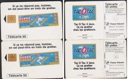 F631 GEM1A F631A GEM1B PAIRE TELECARTE MEME Numéro B62133068  TACOTAC 50 U - Phonecards