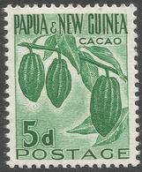 Papua New Guinea. 1958-60 Definitives. 5d MNH. SG 19 - Papua New Guinea