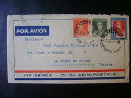 ARGENTINA - LETTER SENT BY AEROPOSTALE TO SWITZERLAND IN THE STATE - Argentinien