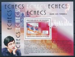 D- [400244] **/Mnh-Guinée 2009 - Echecs , Dans Les Timbres - Echecs