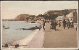 The Promenade, Sidmouth, Devon, 1929 - Photochrom Postcard - England