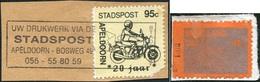 MOTORCYCLE Netherlands Local Private Post Stadspost Apeldoorn + Oss Motorbike Motorrad Motocycle Moto Cycling Privatpost - Motorräder
